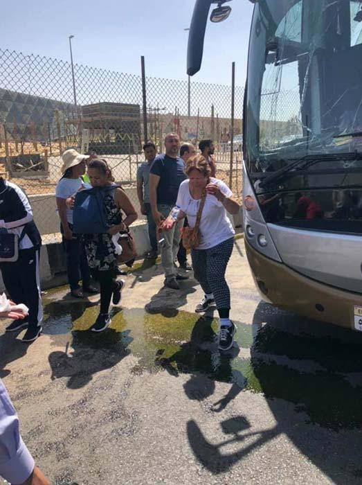16 turistas han resultado heridos en el ataque. (Image: Twitter)