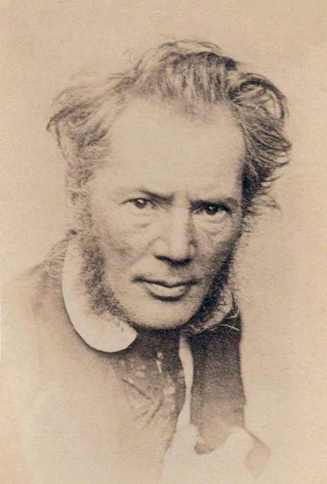 En 1910 surgió la confusión cuando el artista británico Richard Cockle Lucas, afirmó que le habían encargado esculpir el busto. (Dominio publico)