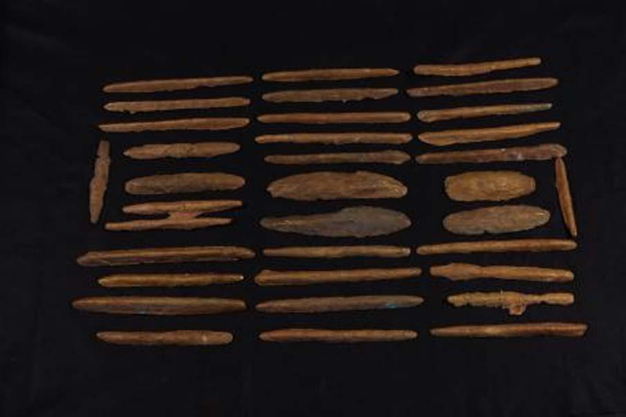 En conjunto, los investigadores han descubierto 47 nuevos lingotes de oricalco de formas y tamaños muy diversos. (Sebastiano Tusa, Soprintendenza del Mare-Regione Sicilia)