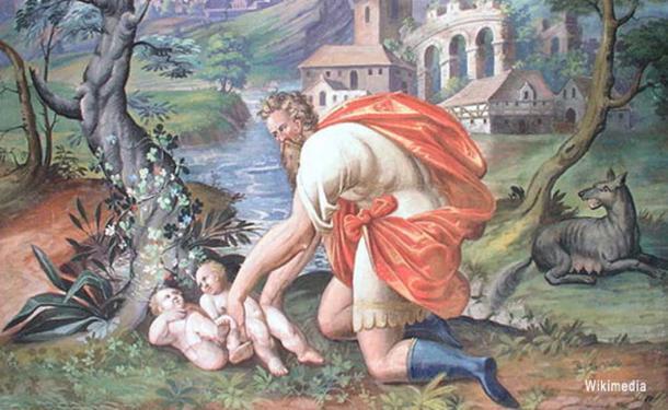 El más famoso mito romano en el que se documenta un intento de infanticidio es el de Rómulo y Remo, en el que los dos hermanos recién nacidos son abandonados para que mueran (Wikimedia Commons)
