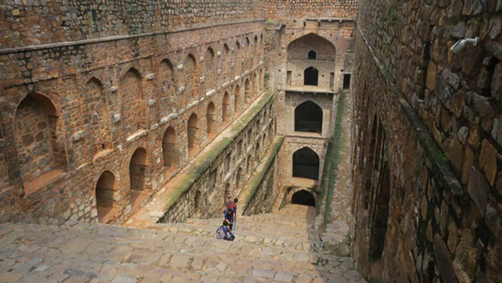 Agrasen Ki Baoli, Nueva Delhi: un pozo escalonado del siglo X del que se dice que está encantado. (Terrazo/CC BY-SA 2.0)