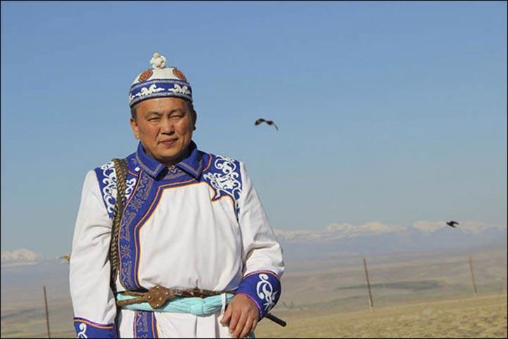 Akai Kine se ha comprometido a continuar su lucha para volver a enterrar los restos de la 'Princesa del Hielo' en la meseta de Ukok. Fotografía: Facebook