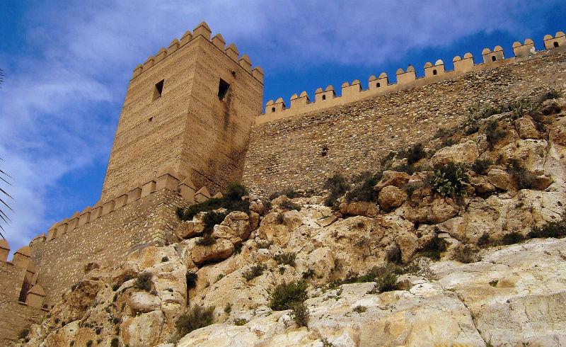 Alcazaba de Almería (Wikimedia Commons)