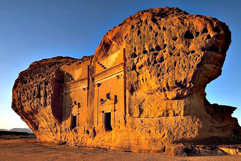 Mada'in Saleh (Fotografía: Código Oculto)