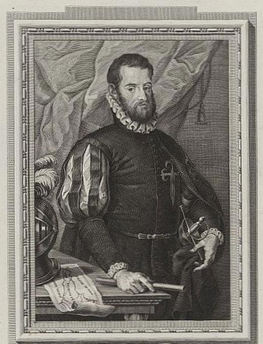 El almirante español Pedro Menéndez de Avilés (1519-1574), retrato de Francisco de Paula Martí (1762-1827). (Public Domain)