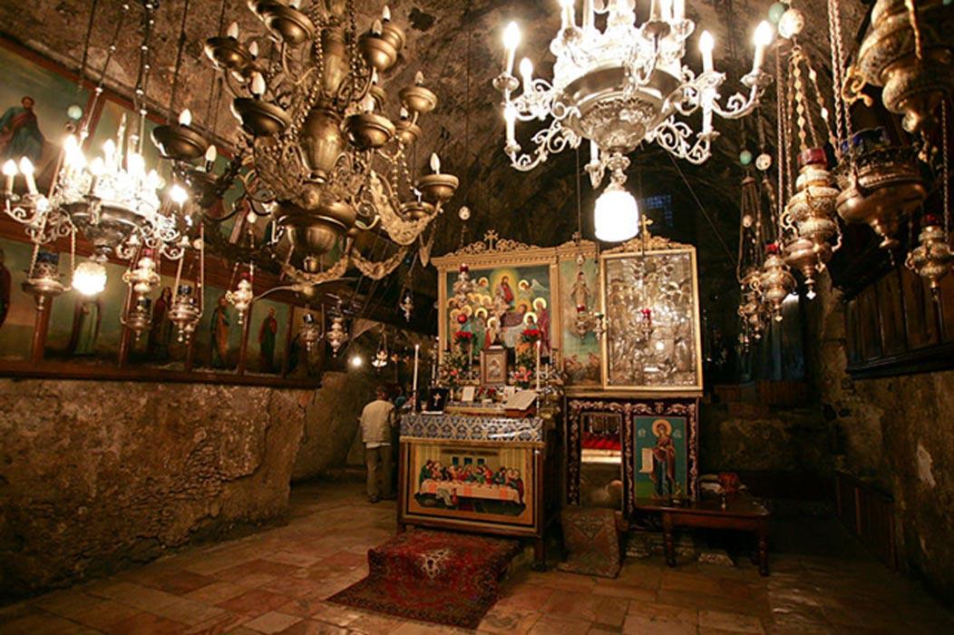 Altar en la Tumba de la Virgen María, Jerusalén. (CC BY SA 2.0)