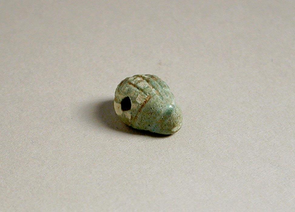 Amuleto del antiguo Egipto que representa a un erizo, Museo de Arte del Condado de Los Ángeles, California (Estados Unidos). (Public Domain)