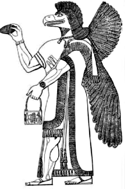 Representación de An, dios sumerio. (Imagen: Historia Enigmática)