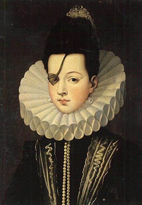 Otro retrato de Ana de Mendoza. (Public Domain)