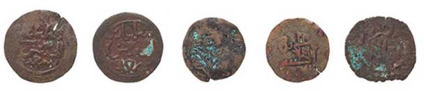 Monedas del sultanato de Kilwa. Crédito: Powerhouse Museum