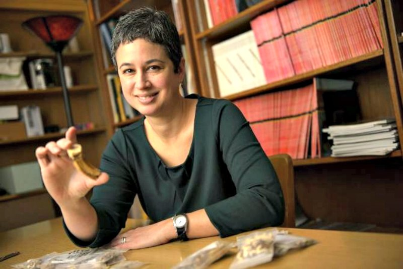 Michele Buzon, antropóloga directora del estudio acerca de la relación entre los pueblos nubio y egipcio en la antigüedad. (Fotografía: Noticias de la Ciencia/ Purdue University/Charles Jischke)