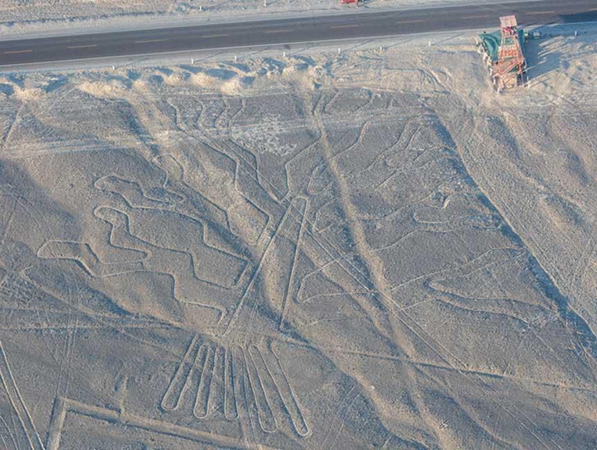 El 'Árbol' de las Líneas de Nazca (Perú). (Diego Delso, Wikimedia Commons, License CC-BY-SA 4.0)