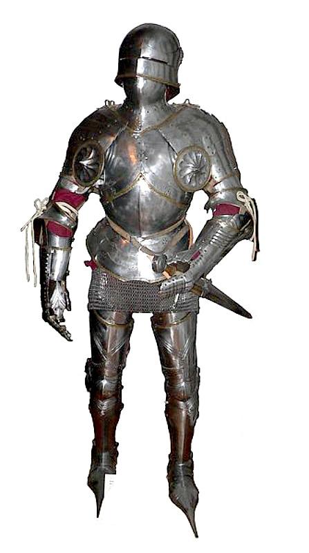 Armadura medieval al completo. (Rama/Public Domain)