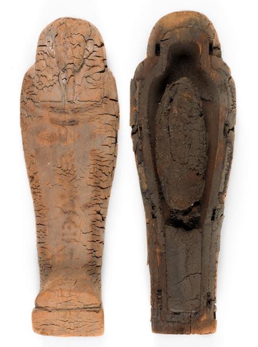 El ataúd del feto momificado. (Jaymes Sinclair/Museo Fitzwilliam)