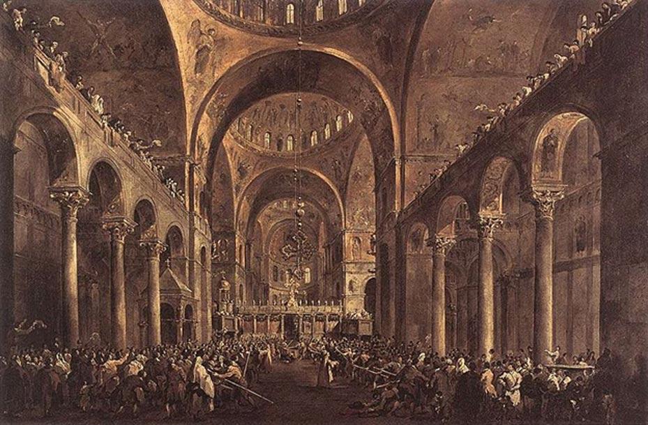 Basílica de San Marcos. (Public Domain)