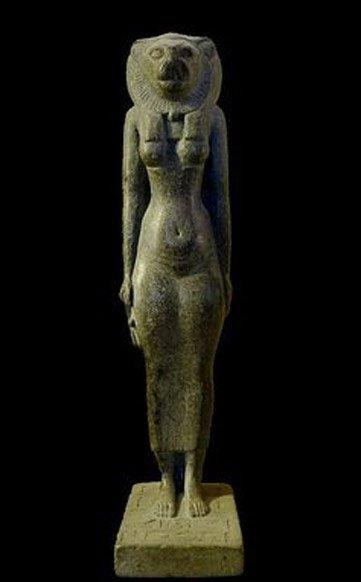 La diosa Bastet bajo su forma de leona. Mbzt/Wikimedia, CC BY-ND