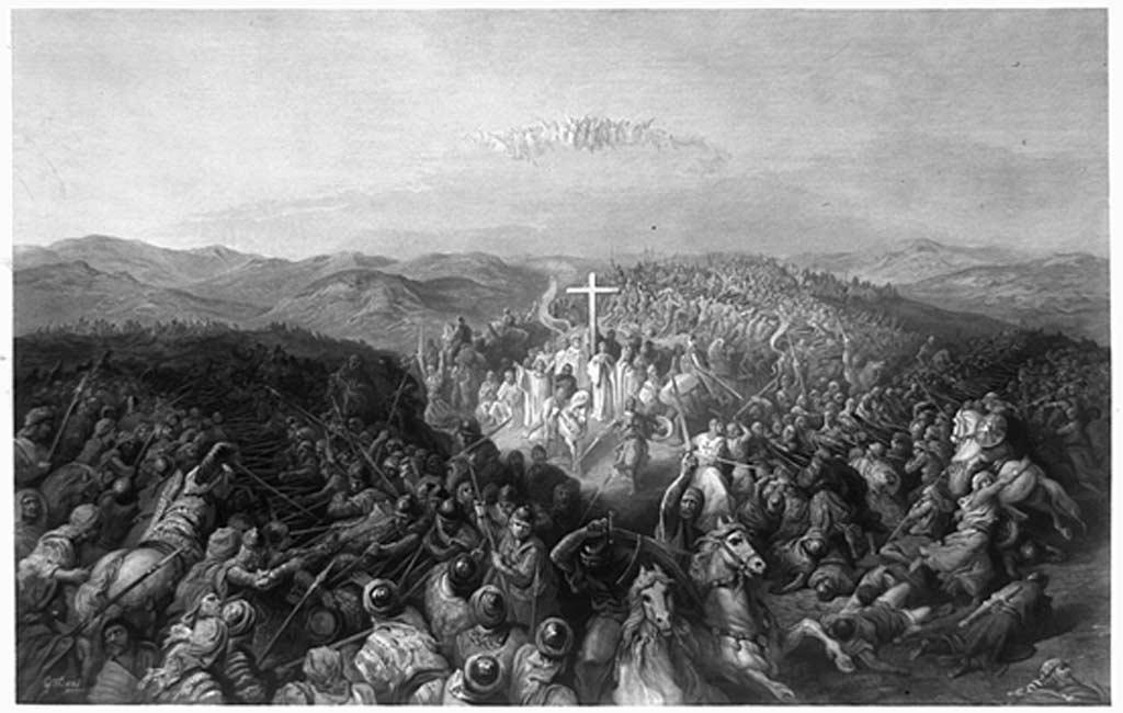 Batalla de Ascalón, 1099 (Public Domain)