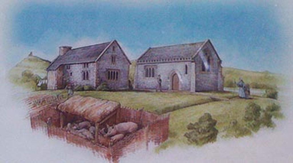 Capilla de Beckery, Somerset (geomancy.org)