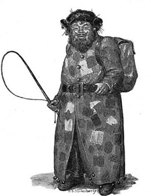 Dibujo del Belsnickel obra de Ralph Dunkleberger. (Flicker/CC BY 2.0)