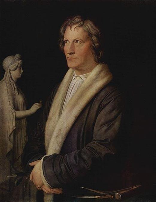 Retrato de Bertel Thorvaldsen obra de Carl Joseph Begas, ca. 1820. (Public Domain)