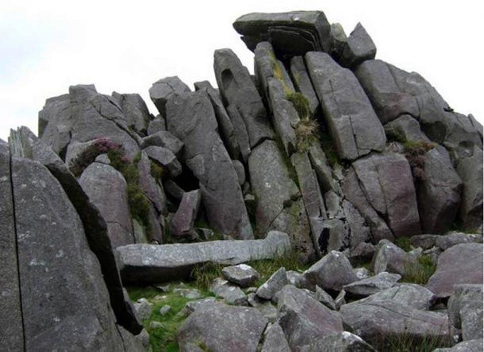 'Bluestones' de Carn Menyn, Gales. (Public Domain)