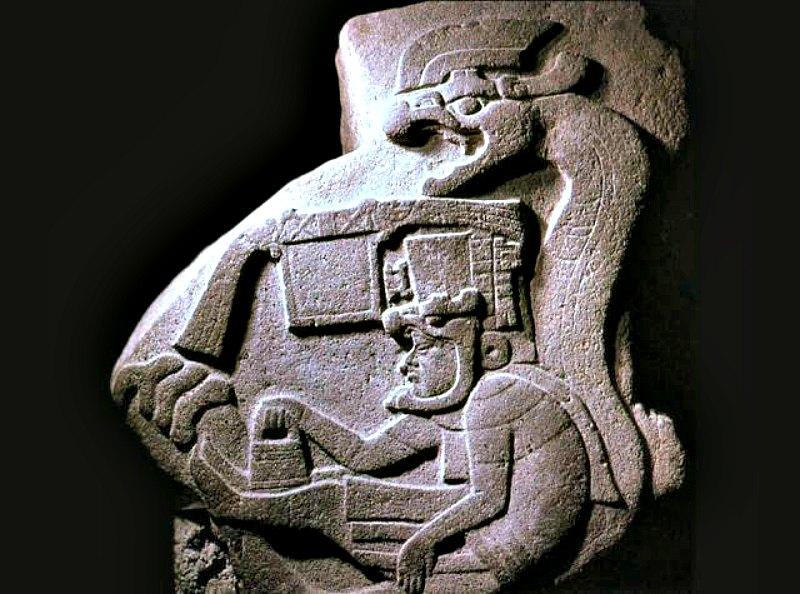 Figura olmeca de Quetzalcóatl. (Fotografía: Historia Enigmática)