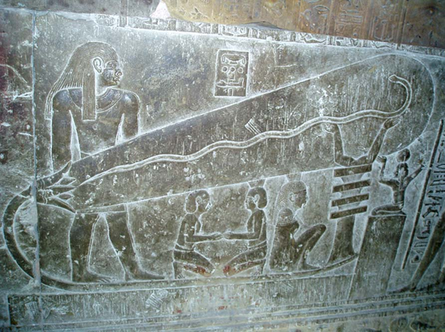 La famosa 'bombilla de Dendera' (Public Domain)
