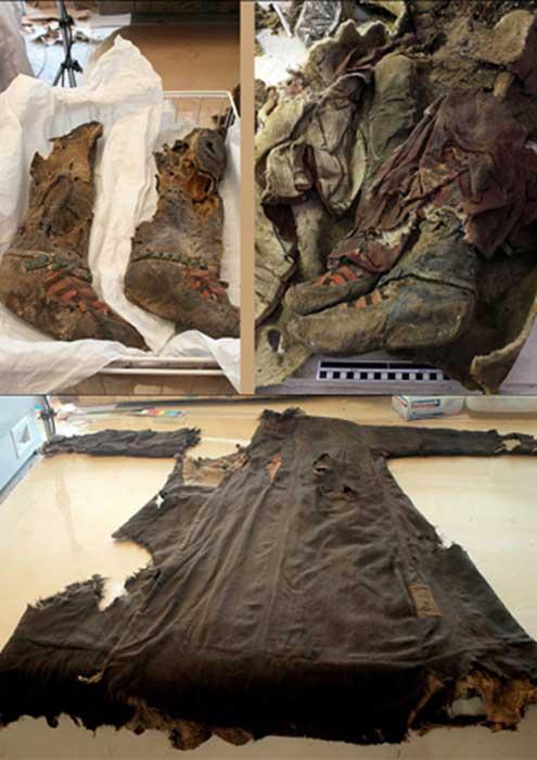 'Se encontraron diversos utensilios de costura con ella. Sólo es una suposición, pero creemos que podría haber sido costurera.' Fotografías: The Mongolian Observer/Centro de Patrimonio Cultural de Mongolia