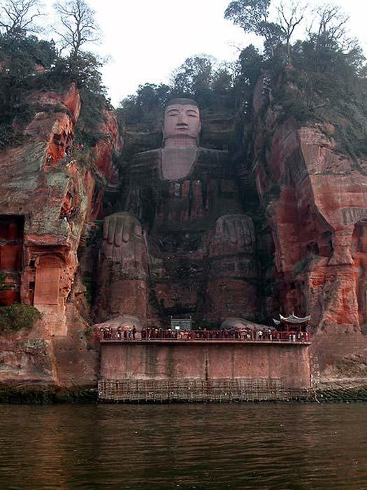 El Buda gigante de Leshan. (CC BY SA 3.0)