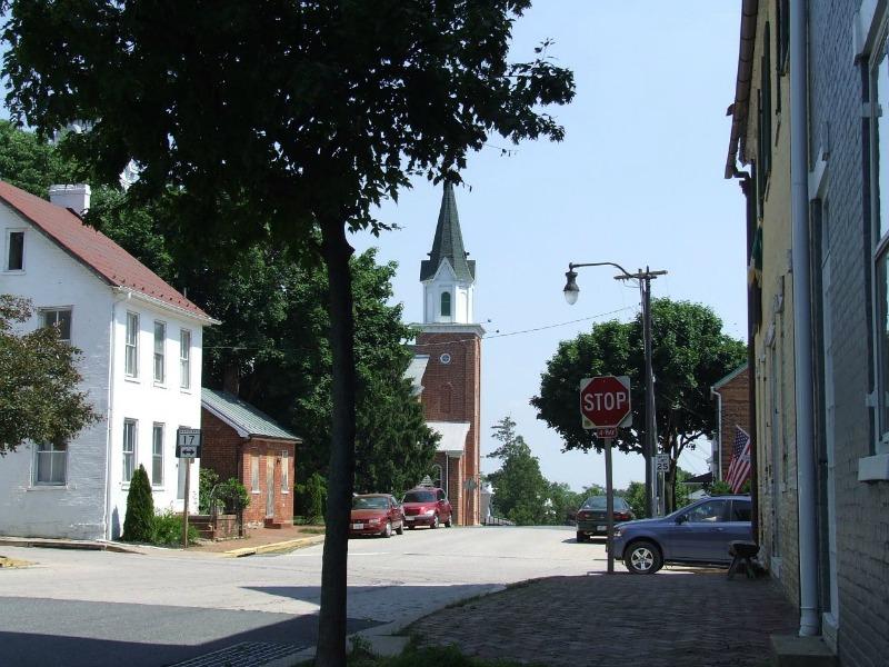 Burkittsville en la actualidad. (Bob Carney/CC BY-SA 2.0)