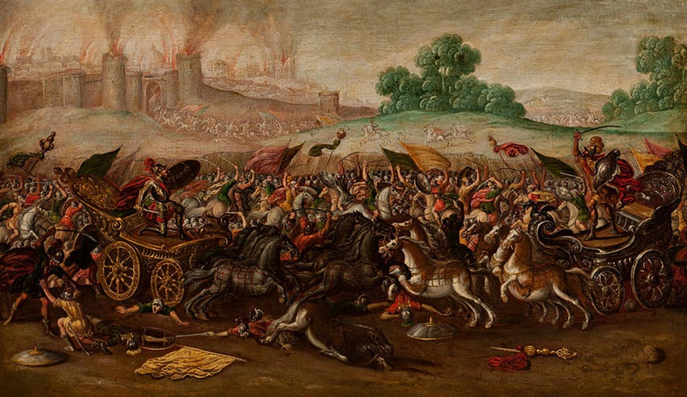 El Ejército de Nabucodonosor Destruye Jerusalén (1630-1660) (Wikimedia Commons)