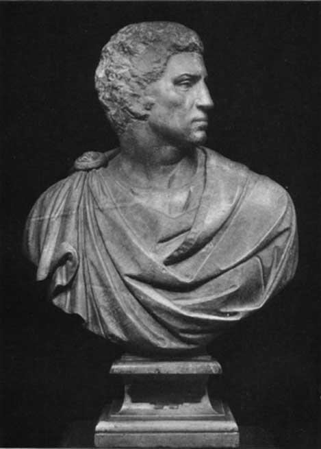 Busto de Bruto obra de Michelangelo Buonarroti (Dominio público)