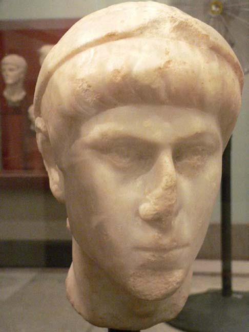 Busto de Constancio II (CC BY-SA 2.0)