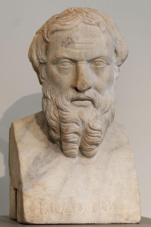 Busto de Heródoto. Museo de Arte Metropolitano de Nueva York. (Dominio público)