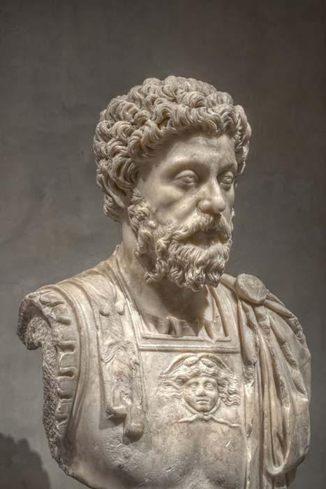 Busto de Marco Aurelio en el Musée Saint-Raymond de Toulouse, Francia. (CC BY-SA 3.0)