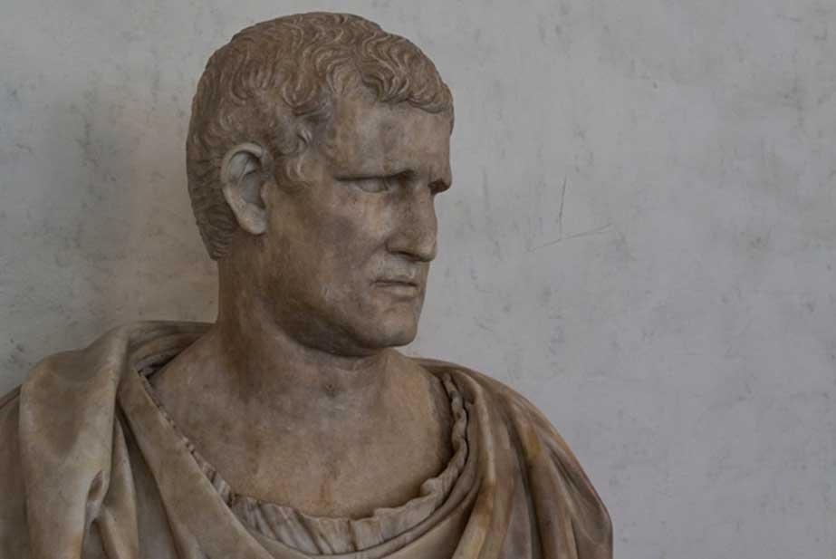 Busto de Marco Vipsanio Agripa, general romano (63 a. C. –12 d. C.). La escultura data de la época del emperador Augusto. (CC BY-NC-SA 2.0)