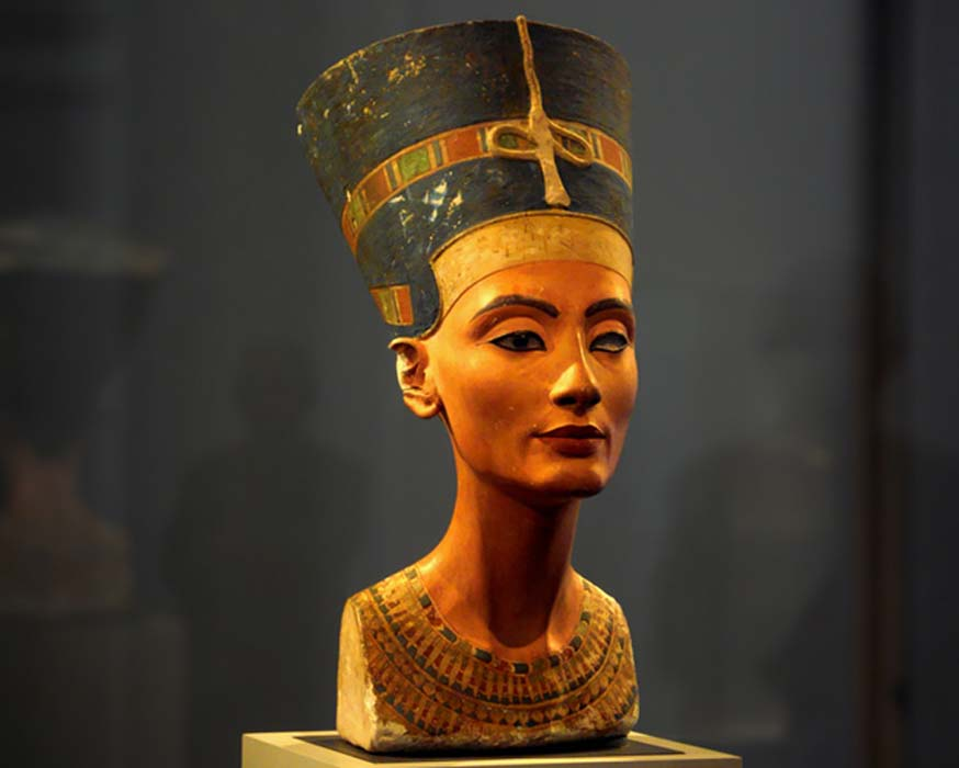 Busto de Nefertiti, Museo Egipcio de Berlín. (CC BY 2.0)
