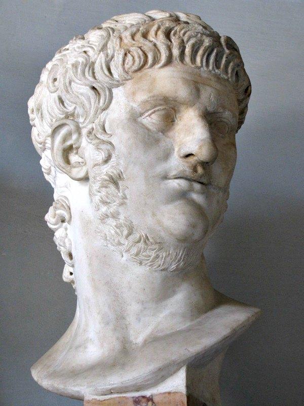Busto de Nerón. Museos Capitalinos de Roma, Italia. (cjh1452000/Public Domain)