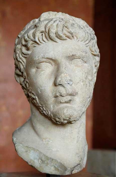 Busto de Ptolomeo de Mauritania, c. 30 d. C. – 40 d. C. (Public Domain)