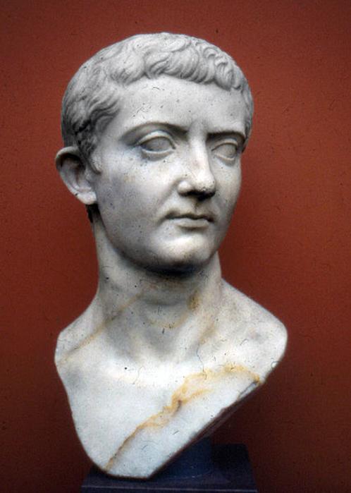 Retrato del emperador romano Tiberio expuesto en la Gliptoteca Ny Carlsberg de Copenhague (Dinamarca). (Dominio público)