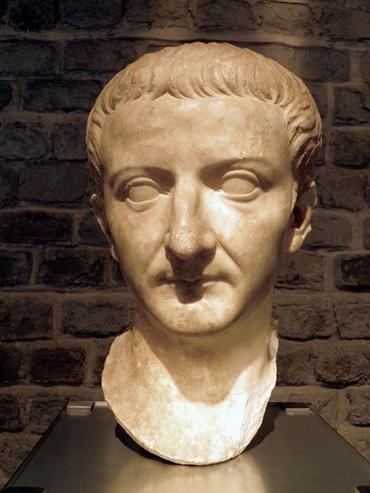 Busto del emperador Tiberio. (CC BY-SA 2.0)