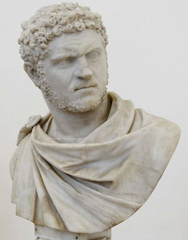 Busto del emperador Caracalla. (CC BY 2.5)
