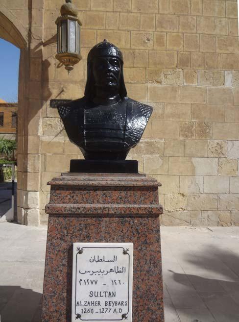 Busto de Baibars. (Ahmed yousri elmamlouk/CC BY SA 4.0)