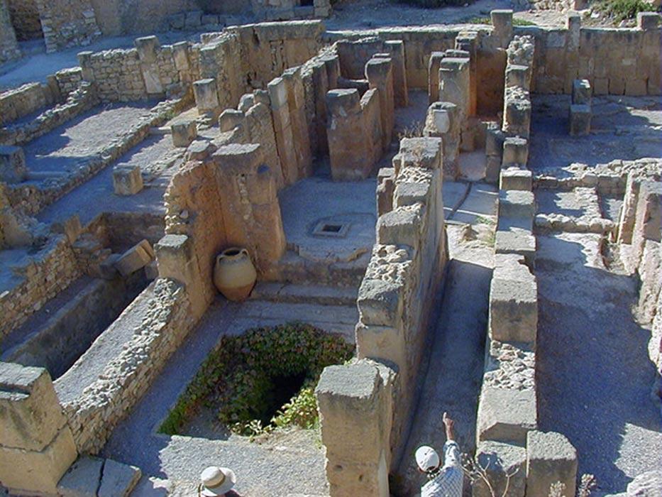 Ruinas de Byrsa, distrito de la antigua Cartago (Túnez). (CC BY SA 3.0)