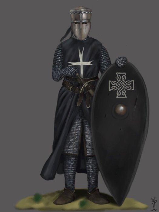 Caballero Hospitalario de San Juan. (JLazarusEB/Deviant Art)