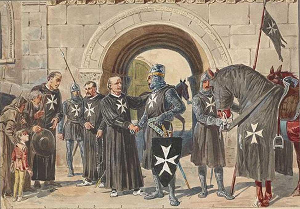 Caballeros de Malta, 1048-1799. (Dominio público)