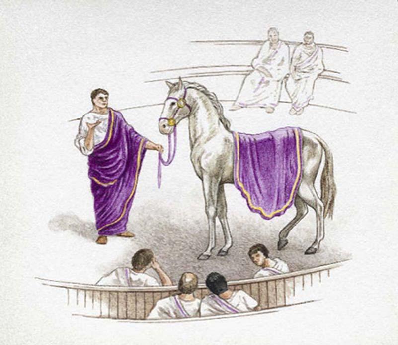 Aunque Calígula afirmó que haría cónsul a su caballo Incitatus, no llegó a cumplir su palabra. (Tvtropes/CC BY NC SA 3.0)