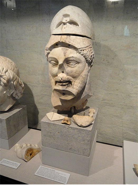 """Cabeza de Milcíades"". Copia romana de un original griego del siglo V a. C. (Public Domain)"