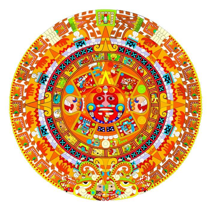 Calendario azteca. (Manuel Vega Veláquez/CC BY SA 4.0)