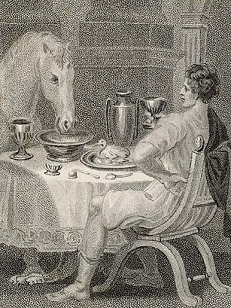 Calígula y su caballo. (Yo amo la Historia)